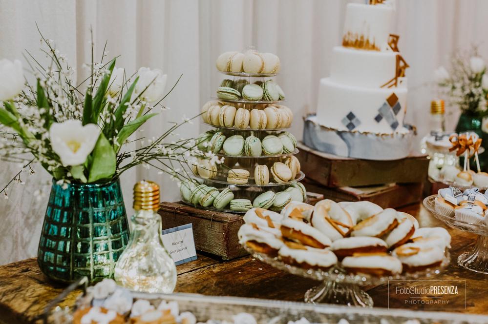 la-sweet-table-allestita
