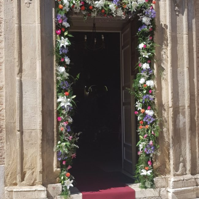 E+M fiori chiesa-g-eventi-wedding