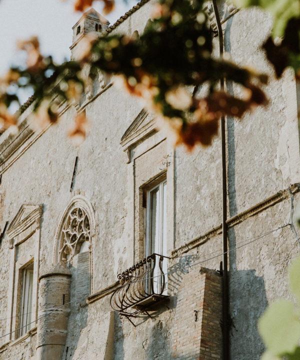 facciata palazzo d'avalos
