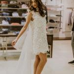 abito corto sposa
