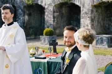 matrimonio religioso all'aperto