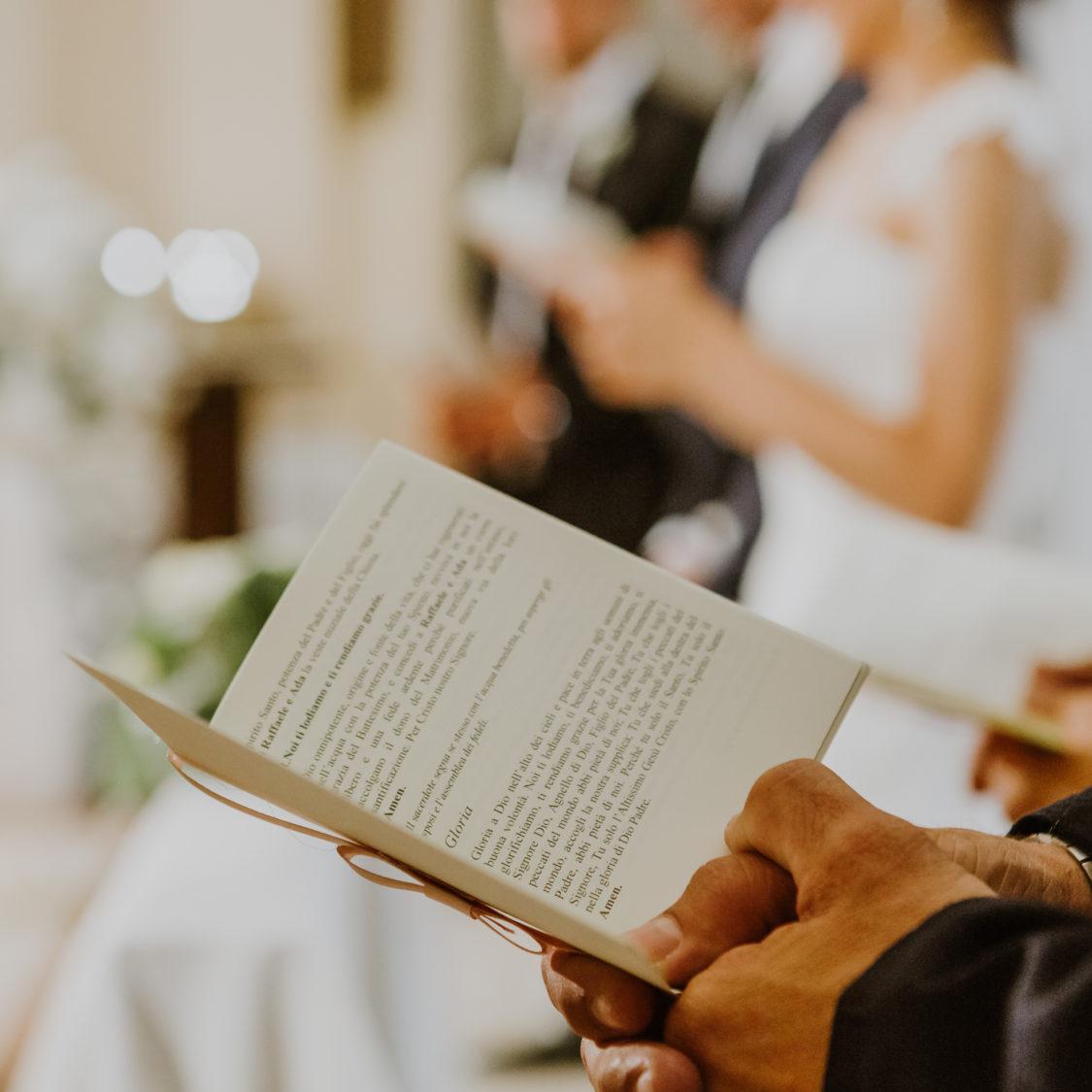 Anniversario Matrimonio Preghiera Dei Fedeli.Liturgia Del Matrimonio Libretto E Le Letture Da Scegliere G