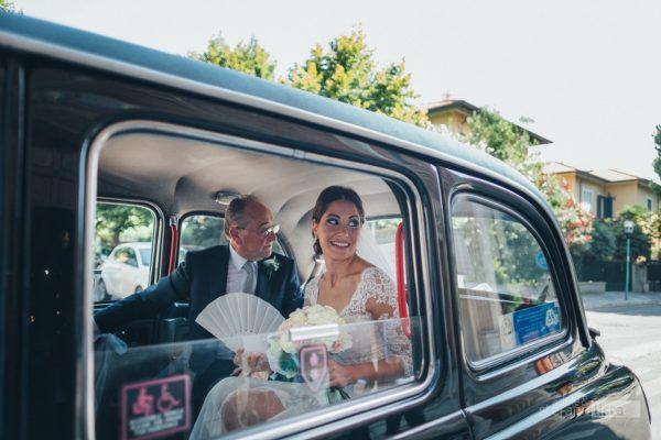l'arrivo della sposa