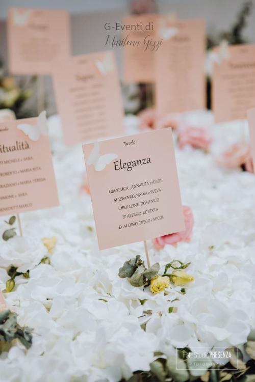 Preferenza Escort Card o Tableau matrimonio: 10 idee originali per i nomi dei UN93
