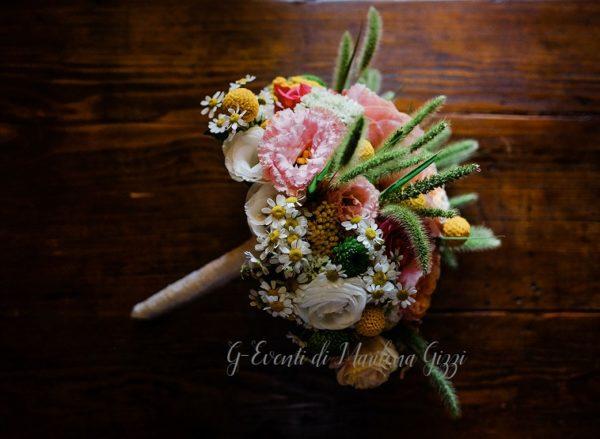 bouquet sposa rustico