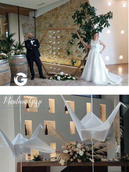 origami matrimonio