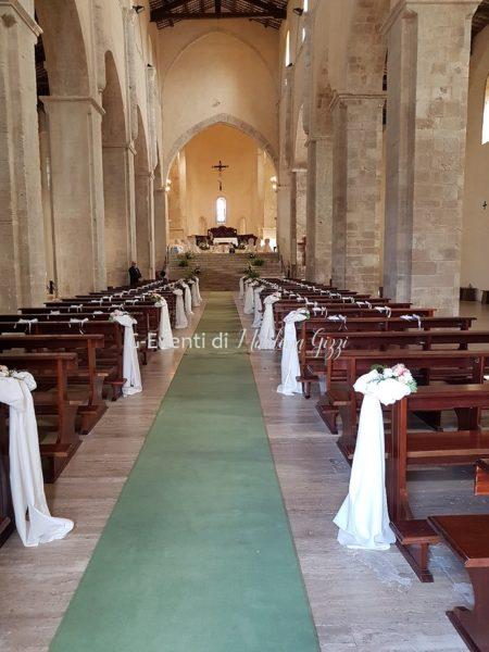 interno navata abbazia