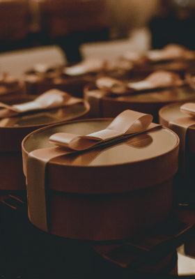 scatoline tonde confetti