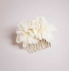 pettine sposa floreale