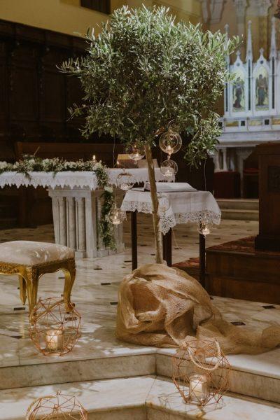 ulivi in chiesa