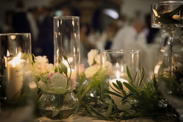 ulivo e candele matrimonio