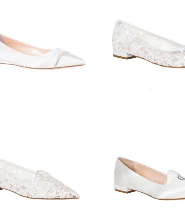 scarpe basse sposa