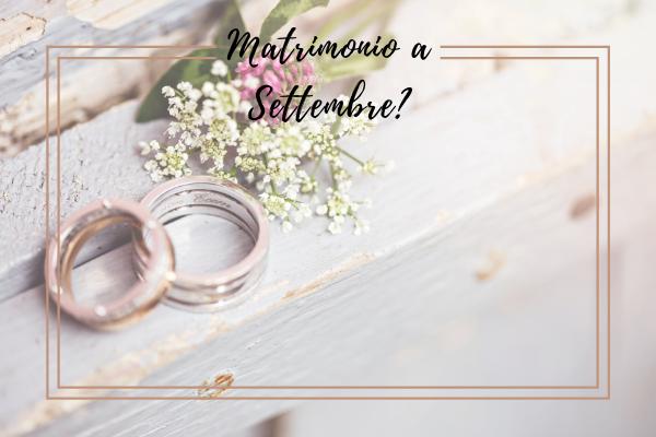 matrimonio settembre
