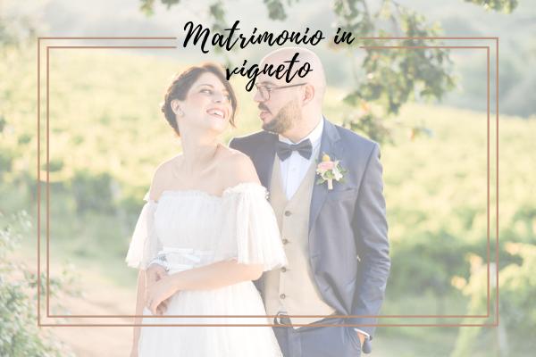 Matrimonio in vigneto