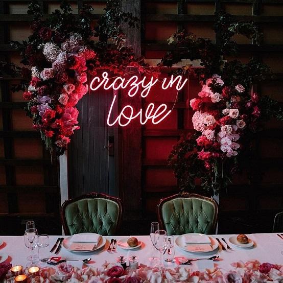 neon matrimonio