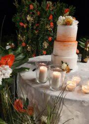 torta finta matrimonio