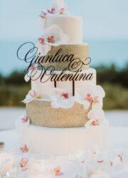 torta personalizzata matrimonio