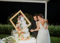 torta creativa matrimonio